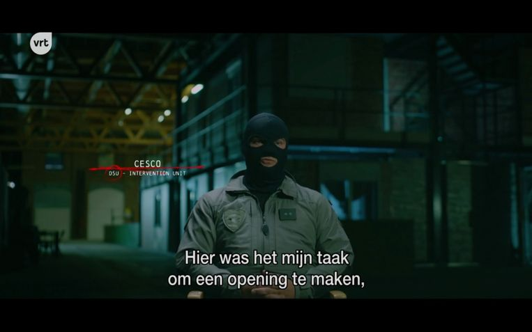 Het speciale interventieteam deed tien pogingen om de voortvluchtige Salah Abdeslam te pakken. Beeld VRT/VPRO