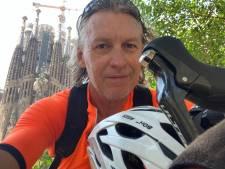 Na 2190 kilometer fietsen eindelijk in Barcelona! Een oase van betrekkelijke rust