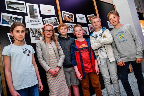 Kindergemeenteraadsleden evalueerden onder andere de kindvriendelijkheid van de Dendermondse musea.