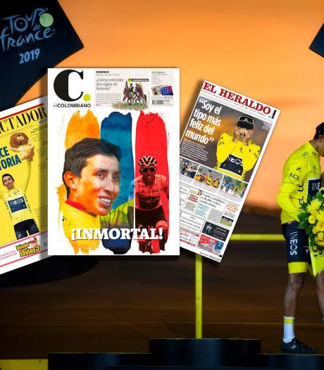 Een Colombiaanse winnaar, wen er maar aan