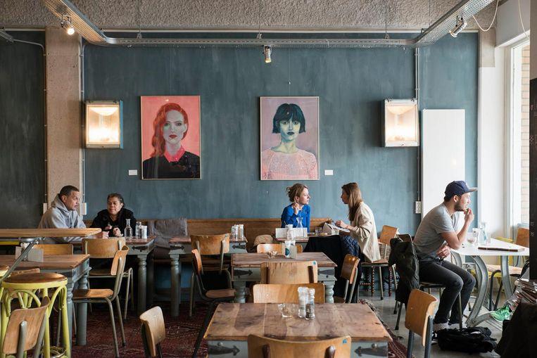 Ontbijt- en lunchrestaurant Stek Beeld Charlotte Odijk