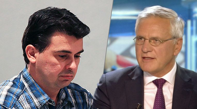Ex-CD&V-kandidaat Rediart Cankja en Antwerps lijsttrekker Kris Peeters.