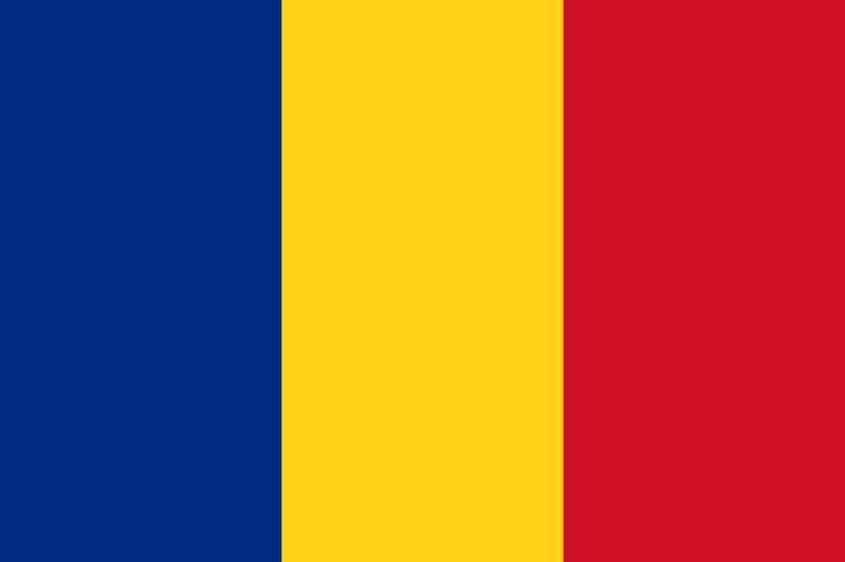 De Roemeense vlag.