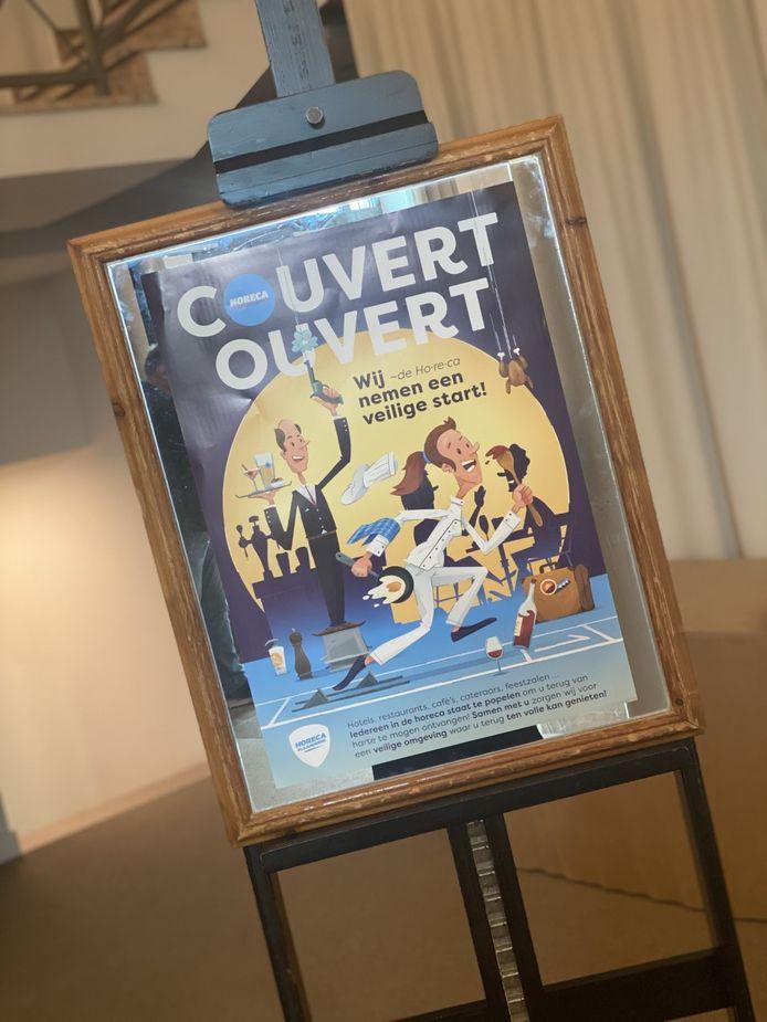 De poster van Horeca Middenkempen.