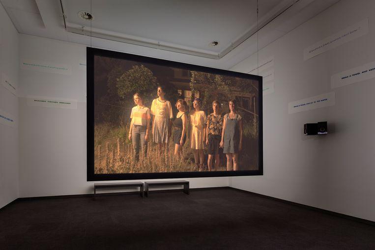 Rory Pilgrim, The Undercurrent, multimedia-installatie, 2019. Beeld Daniel Nicolas