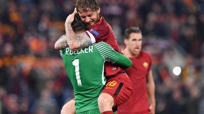 """Twitter gaat uit zijn dak op stunt AS Roma: """"Mamma Mia"""" - """"Alle wegen leiden naar Rome"""" - """"What the f*ck, Barça?"""""""