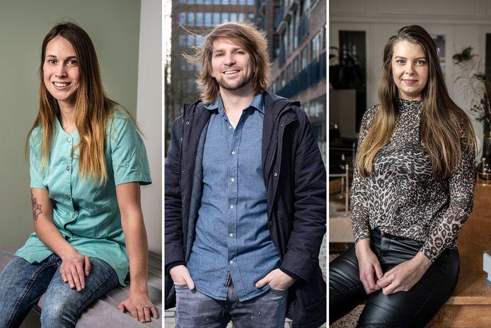 Jeanine Suiker, Jan-Willem Duim en Sabine Arentz zijn alle drie werkzaam als zelfstandige.
