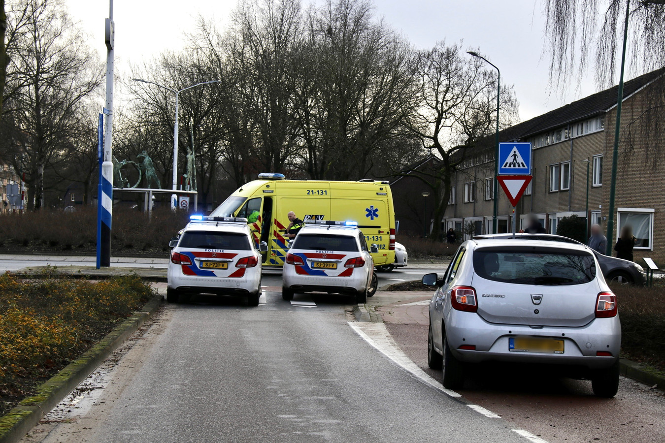 Wielrenner gewond in Cuijk.