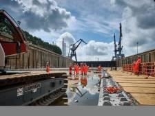 Tunnelbouwers beginnen aan een monsterklus en beschermheilige Sint Barbara is erbij