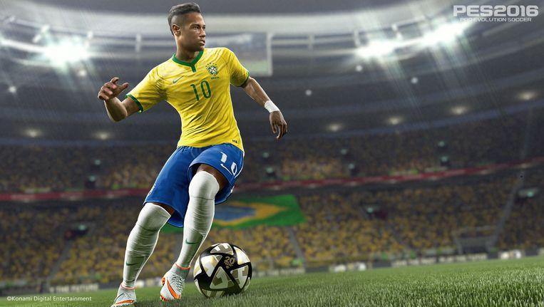 Pro Evolution Soccer. Beeld Konami