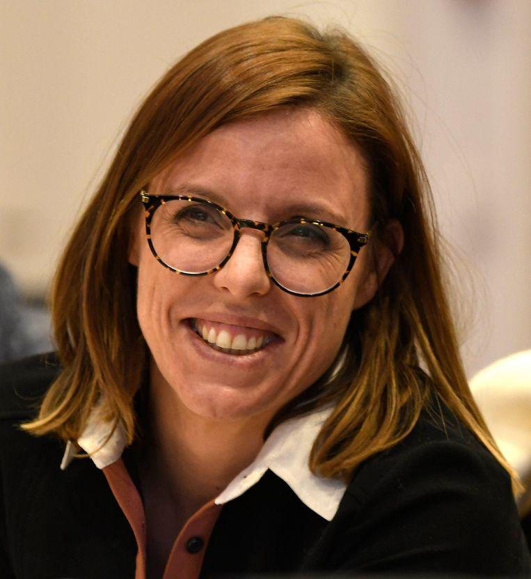 Sarah Smeyers juicht het engagement van de lokale handelaars toe.