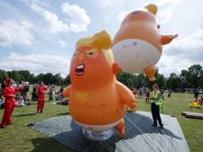 Schotten steken draak met golfende Trump: 'Hier sluiten we geen kinderen op'