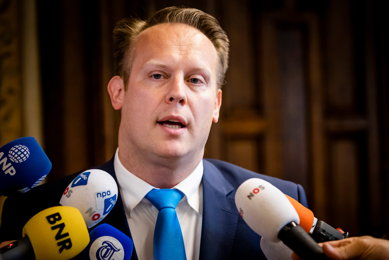 CDA-fractievoorzitter Pieter Heerma