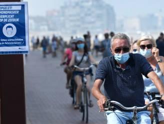 Mondmaskers verplicht op zeedijk van Knokke-Heist tot einde van paasvakantie