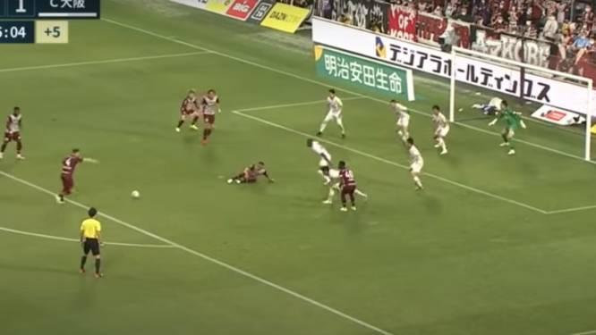 Wat een goal! Vermaelen sleept in slotseconden punt uit de brand voor Vissel Kobe met schicht in de bovenhoek