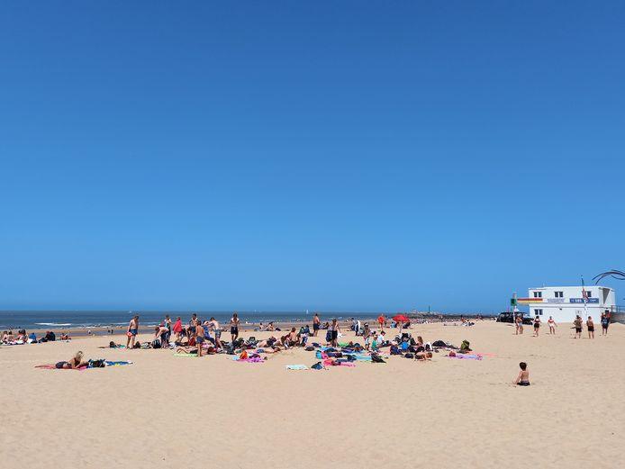 Zaterdag bleef het nog relatief kalm in Oostende.