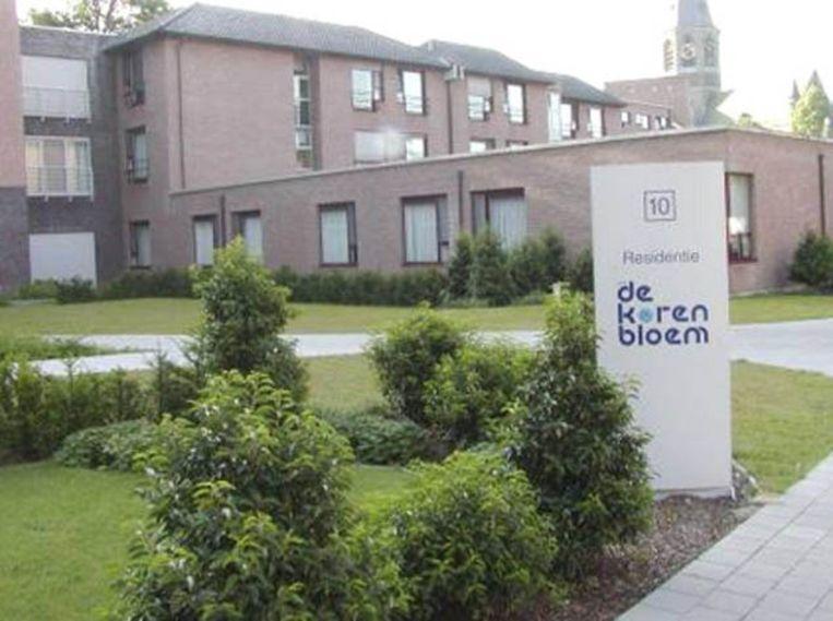 In residentie De Korenbloem in Kortrijk sloeg de gewelddadige dief toe. Beeld boydens.be