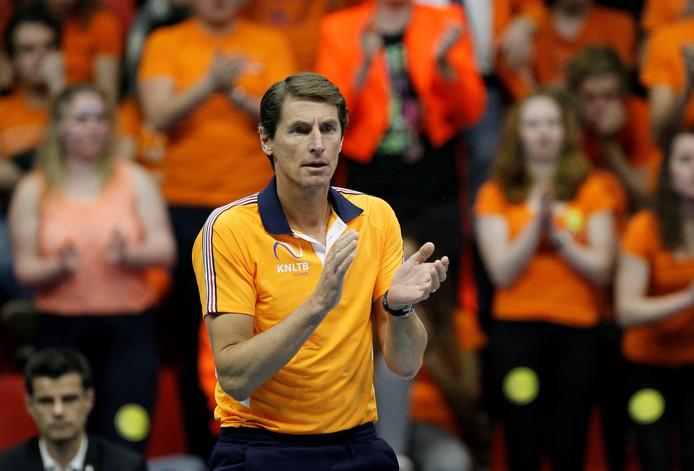 Davis Cup-captain Paul Haarhuis