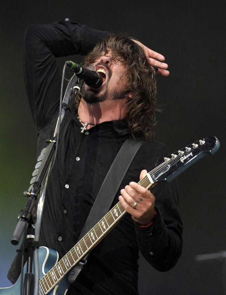 Dave Grohl van de Foo Fighters. Beeld EPA