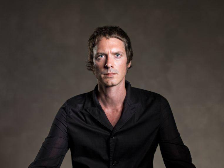 Roderik Six.  Angst regeert in zijn nieuwe roman 'Volt'. Beeld Studio Edelweiss