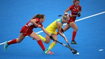 Belgische hockeyvrouwen pakken eerste punt na draw tegen Australië