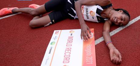 Sifan Hassan is wereldrecord op 10.000 meter al na twee dagen kwijt