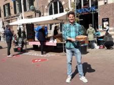 Dudok in Arnhem opent taartenkraam met hartjes op anderhalve meter afstand