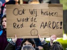 Scholieren negeren verbod Veluwse Onderwijsgroep op deelname klimaatdemonstratie