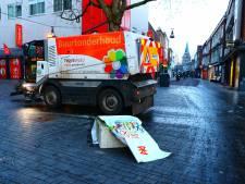 Rustig in Enschede, maar ondernemers gespannen: 'ze moeten het niet nog eens proberen'