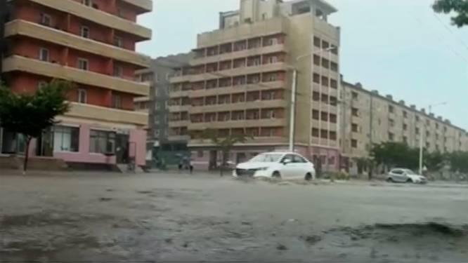 Voedseltekorten dreigen in Noord-Korea na overstromingen door hevige regenval