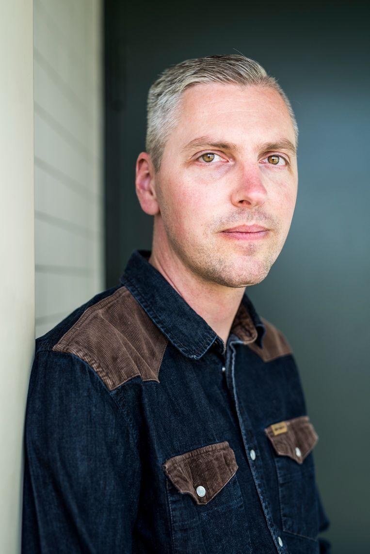 Mike Sikkens, ambulant begeleider TBS patiënten bij TBS kliniek Oostvaarder. Beeld Linelle Deunk