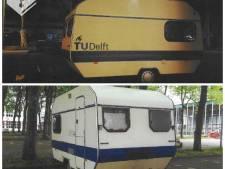 Caravan met mogelijk schadelijke stoffen van TU Delft gestolen
