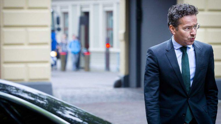 Minister Jeroen Dijsselbloem van Financiën. Beeld null