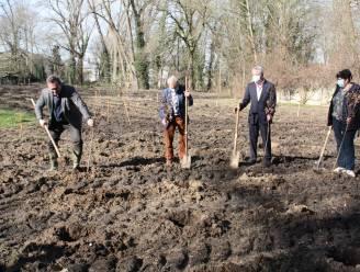 """Provincie plant bosje bij Esenkasteel: """"Binnen tien jaar picknicken in de schaduw van de bomen"""""""