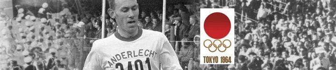 Tokio '64 werd voor Eugène Allonsius de tweede olympiade.