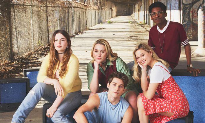De cast van Cruel Summer.