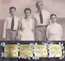 Het gezin Rippe en 'hun' Stolpersteine in Bennekom.