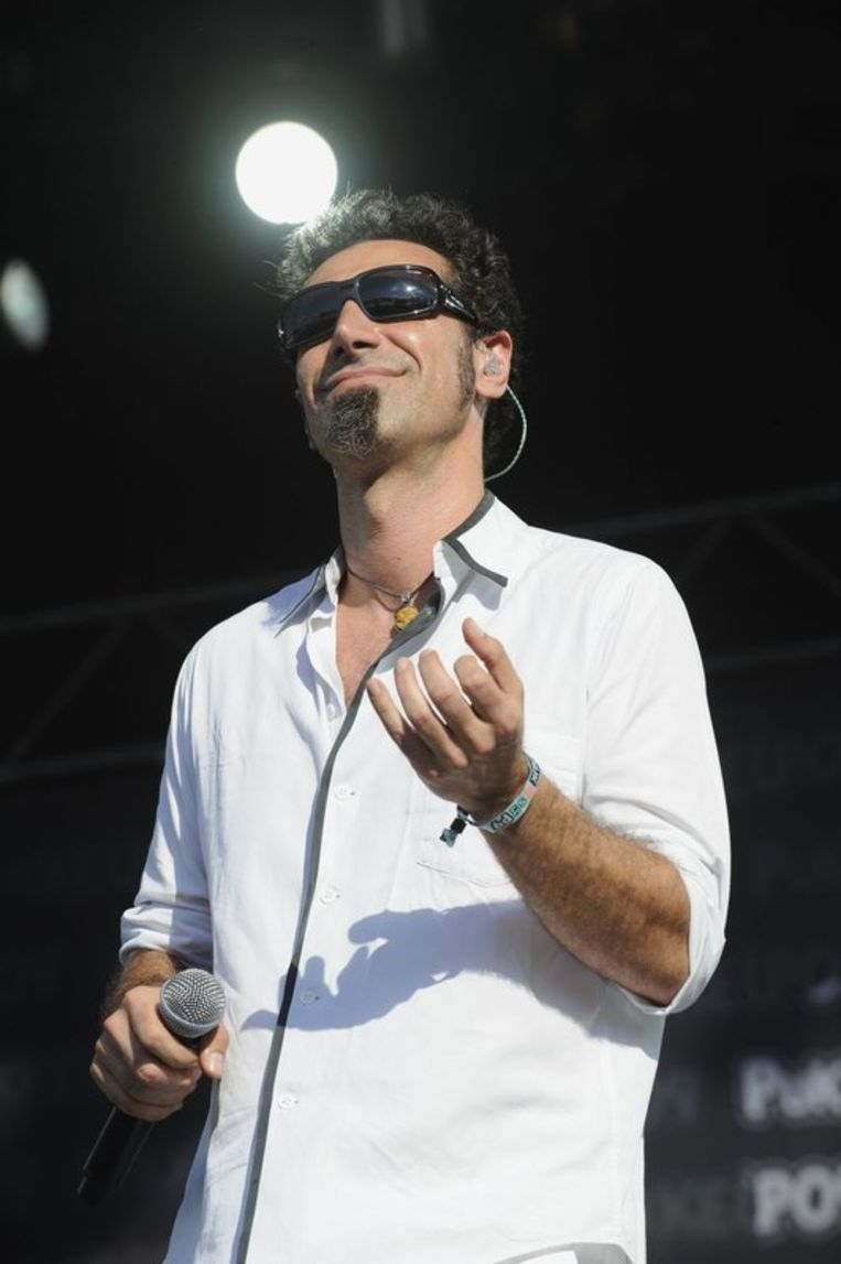Serj Tankian (Marc Gysens) Beeld UNKNOWN