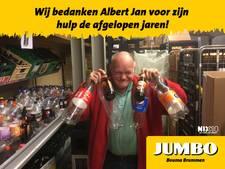 'Flessenman' Albert Jan stopt bij Jumbo Brummen