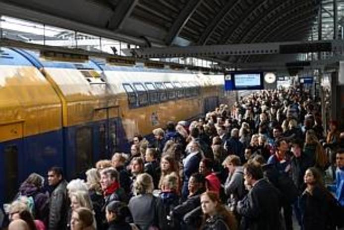 Het is soms heel druk op station Amersfoort.