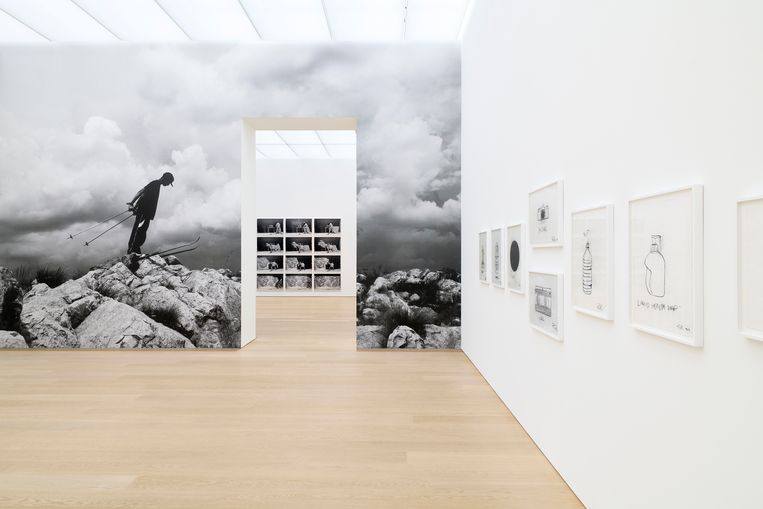 Installatie in Museum Voorlinden Beeld Antoine van Kaam