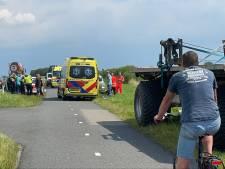 Vrouw (23) gewond bij ongeval met landbouwvoertuig op N210