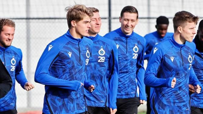 Dopingcontrole houdt spelers Club Brugge even op voor laatste training dag voor de clash