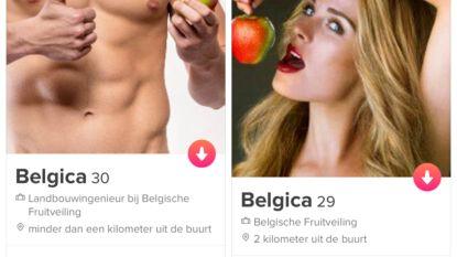 Match eens met een Belgica-appel op Tinder