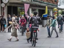 Dit is geen fietspad, maar wat dan wel? 'Bizar dat je dit doet met de drukste fietsroute van Den Haag'