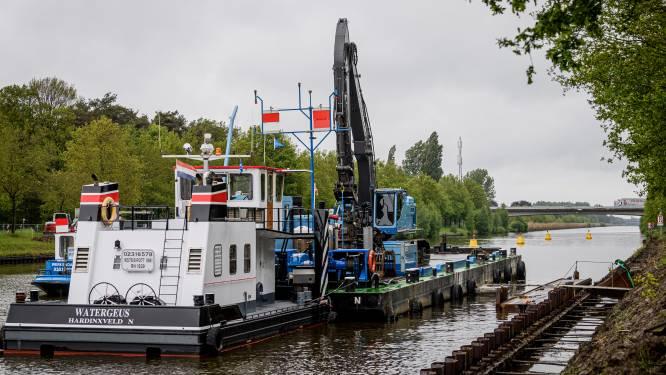 Twentekanaal meter smaller na tegenvallende proef met damwanden