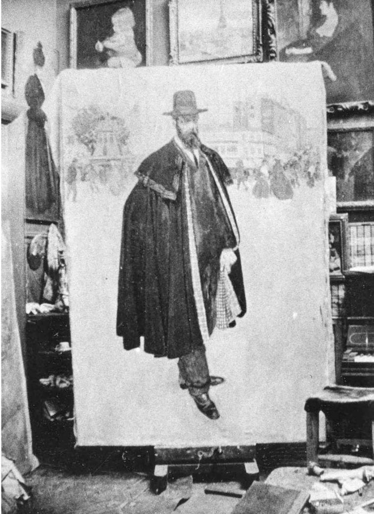 De Spanjaard te Parijs werd kort voor Evenepoels dood verkocht aan het Museum voor Schone Kunsten in Gent, waar het nog hangt. Beeld Privécollectie