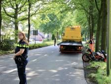 Motorrijder gewond na botsing in Eemnes
