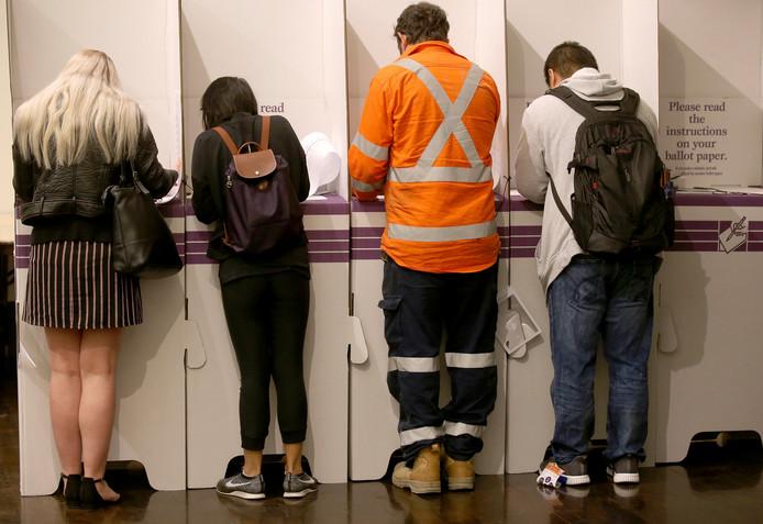 Bijna 16 miljoen Australiërs gaan vandaag naar de stembus.