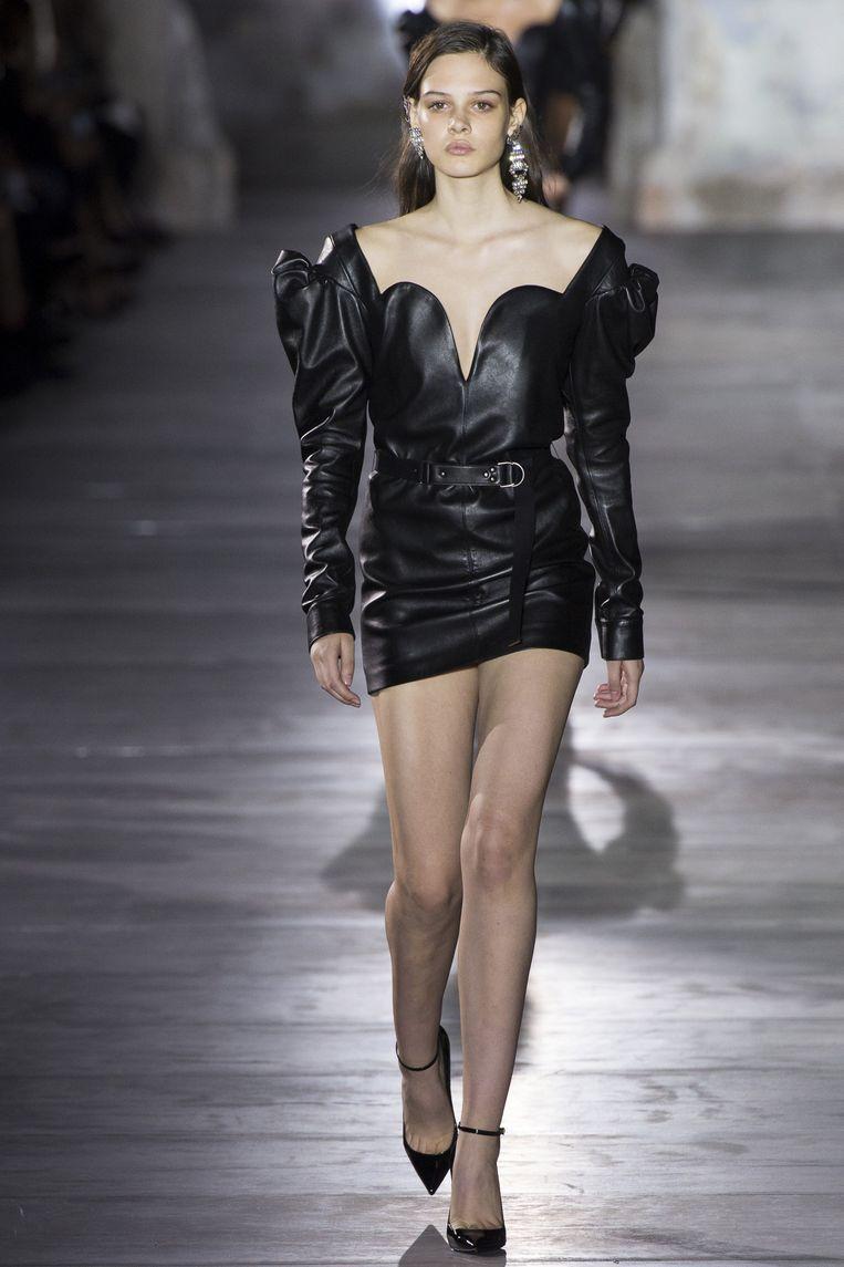 Vaccarello voor Yves Saint Laurent.  Beeld rv
